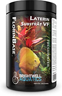 FlorinBase Laterin Substrat VF, Very Fine, High Porosity Clay Base Substrate for use in Planted and Freshwater Shrimp biotope Aquaria, 700 Grams