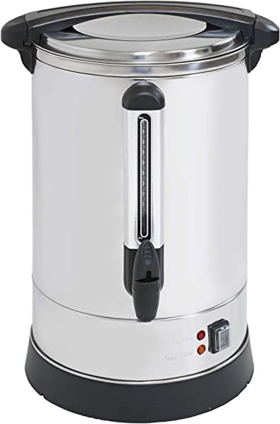 Clevr Coffee Maker Urn 20 Liters 5 2 Gallons Up To 135 Servings For Events Commercial Size Fundraisers Parties Weddings Small Businesses Extra Large Coffee Brewing Broiler