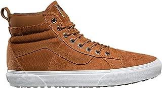 Vans Ultrarange Hi Casual Shoes, Glazed Ginger, Mens 8, Womens 9.5, VN0A3MVSDX3-BLACK-8
