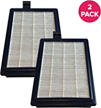 Crucial Vacuum Replacement Vacuum Filter Part # HF12 & HF-1 - Compatible with Electrolux HF1 - Electrolux & Eureka HEPA Style Filter for Better Clean, Healthy Lifestyle to Reduce Bacteria (2 Pack)