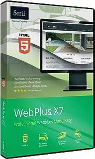 US Serif Software WebPlus X7