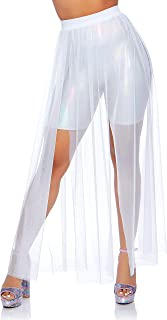 Best white mesh skirt Reviews