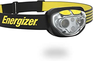 Energizer VISION LED Headlamp Flashlight, 400 High Lumens, IPX4 Water Resistant, Multiple Modes, Best Headlight for Campin...