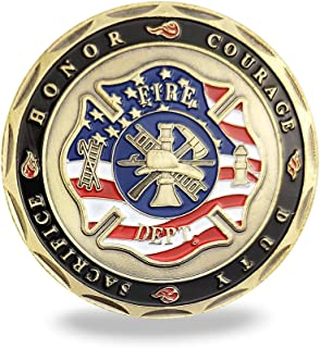 firefighter challenge coins canada