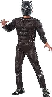 Rubie's Captain America: Civil War Deluxe Black Panther Costume, Medium 8-10