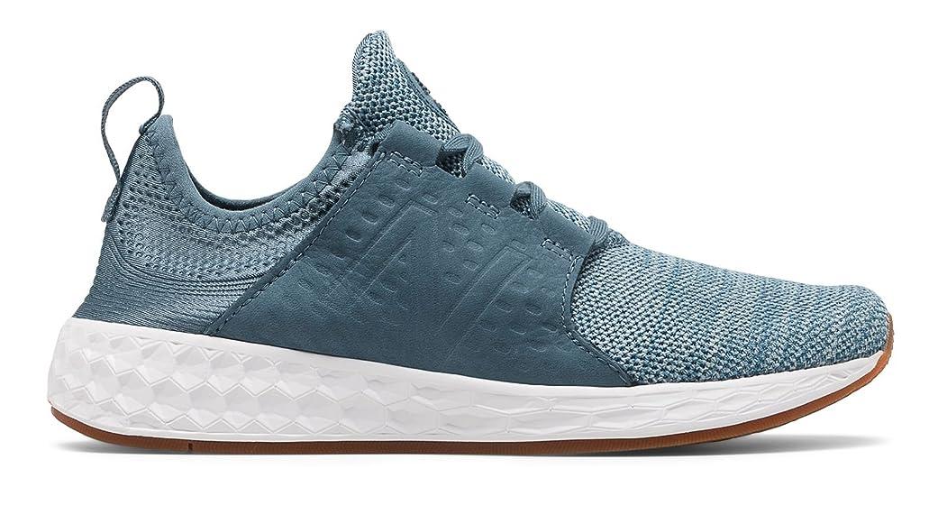 キャメル怒ってプロトタイプ(ニューバランス) New Balance 靴?シューズ レディースライフスタイル Fresh Foam Cruz Dark Porcelain Blue with Reflection ダーク ブルー US 10.5 (27.5cm)