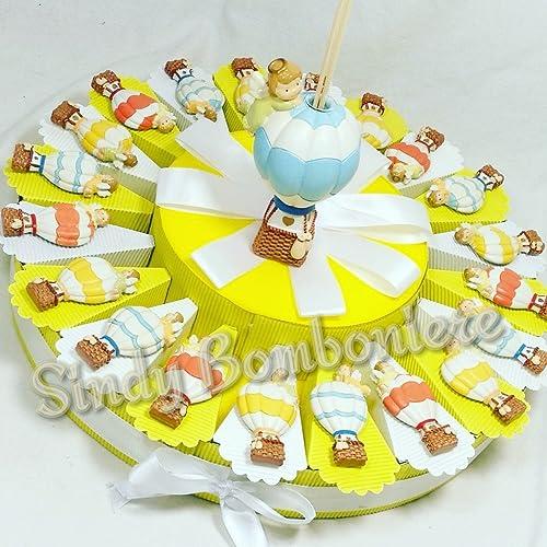 marca Bomboniere bautizo nacimiento 1° Cumpleaños Globo aerostático Imán Surtido Colors Colors Colors Ambientador  en linea