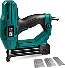 Electric Brad Nailer, NEU MASTER NTC0040 Electric Nail Gun/Staple Gun for Upholstery, Carpentry and Woodworking Projects, ...