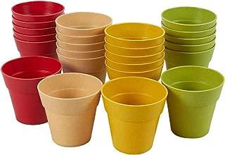 Best mini plastic pots Reviews