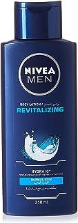 NIVEA MEN Revitalizing Body Lotion, Vitamin E, Normal Skin, 250 ml