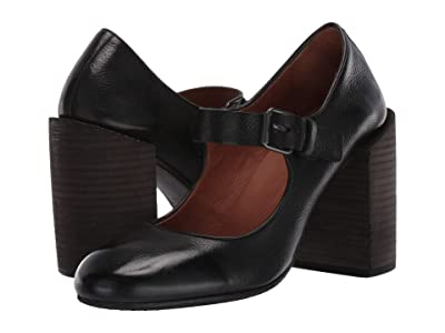 Marsell Stacked Heel Mary Jane (Black) Women