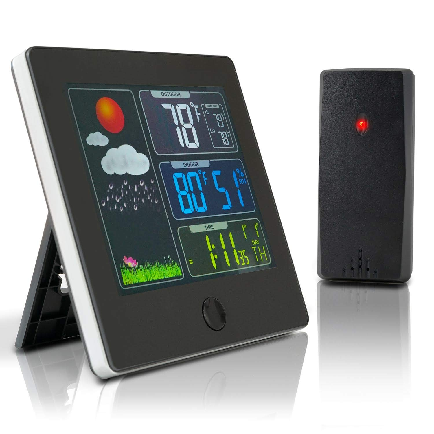 Wireless Thermometer Weather Languages Temperature