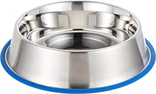 Kruuse Buster Stainless Steel Bowl Blue Base 0.45L