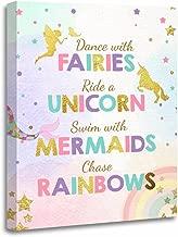 mermaids unicorns and fairies