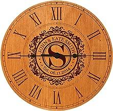 Wedding Clock or Anniversary Clock Personalized Wedding Gift Anniversary Gift Housewarming Gift