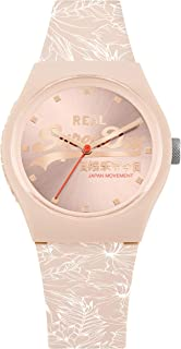 Superdry Women's Quartz Silicone Strap, Pink, 19 Casual Watch (Model: SYL248C)