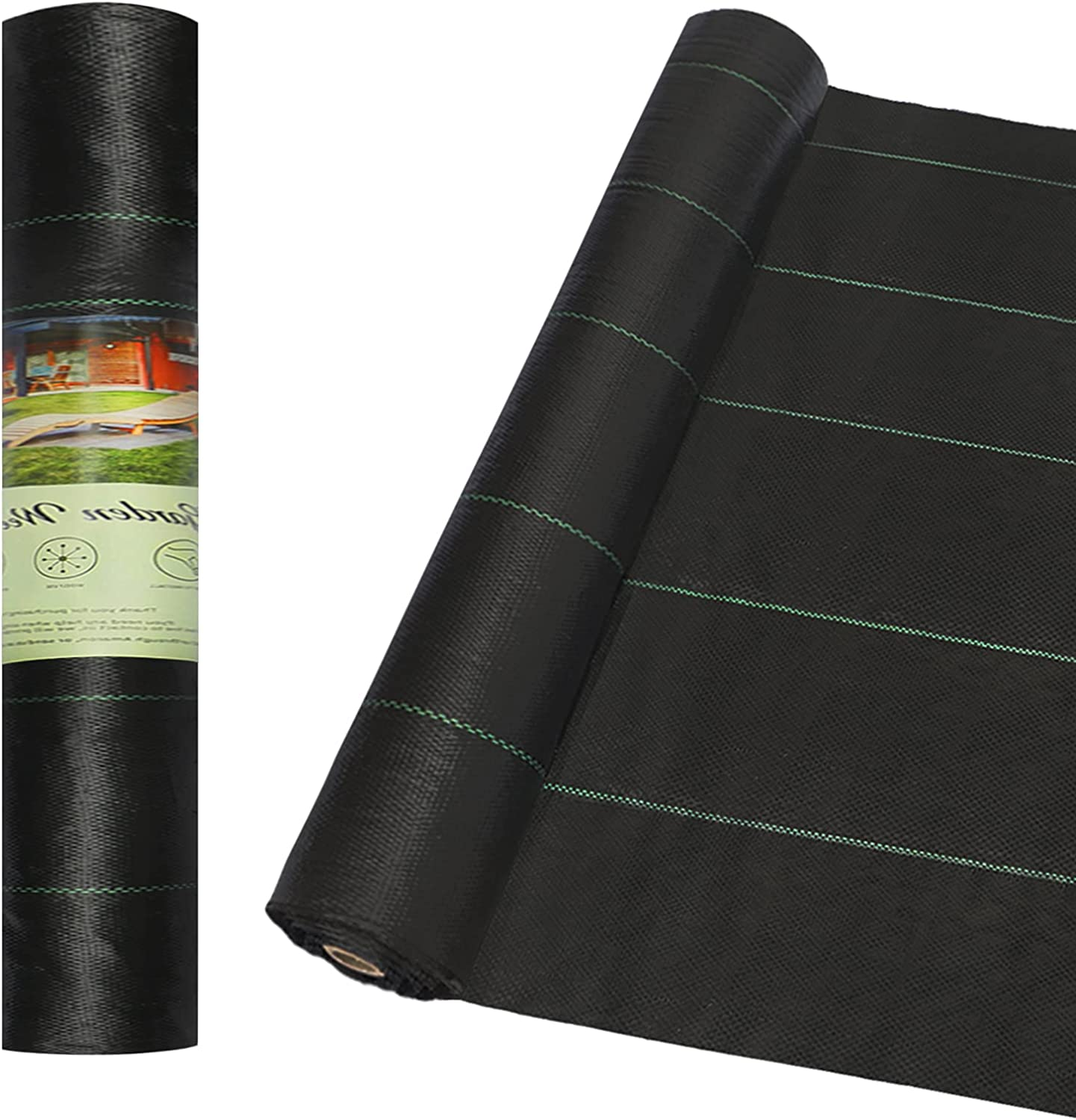 COLORFULHOPE 4ft x New products, world's highest quality popular! 250ft Weed Limited Special Price Landscape Fabric Hea 3.2oz Barrier