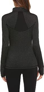 Pinspark Women's Long Sleeve Stretchy Thumb Hole Workout Sports Active Jacket Shirt
