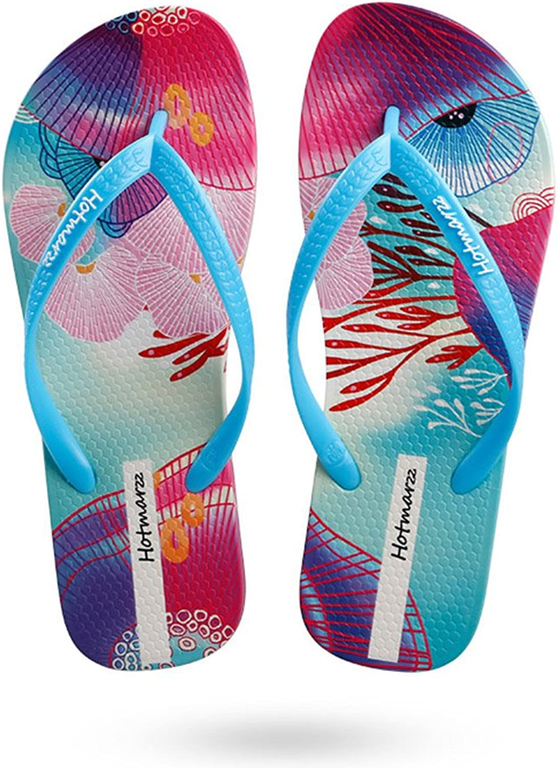 Beach Summer Women Havaianas Flip Flops Comfortable Rubber Sandals,bluee,40