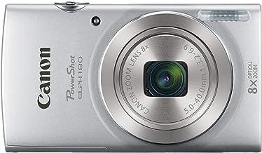 Canon PowerShot ELPH 18020MP cámara digital (Plata) + 32GB Bundle Plateado