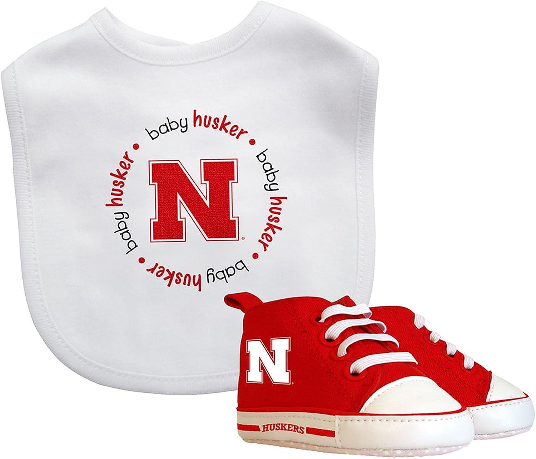 Baby Fanatic Bib with PreWalkers  Nebraska, University of