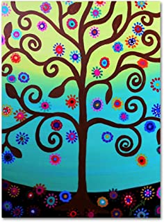 Blessed Tree by Prisarts, 24x32-Inch Canvas Wall Art