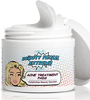 beauty facial extreme acne treatment pads