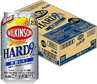 【2019年発売】ウィルキンソンハード ナイン無糖レモン缶 [ チューハイ 350ml×24本 ]