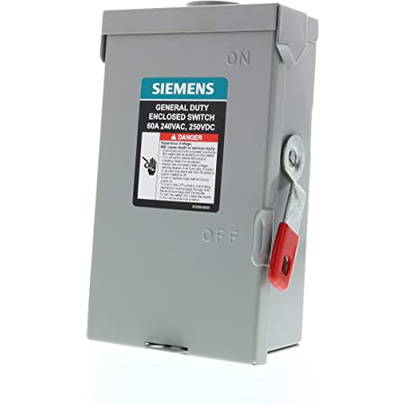 Details about  /Siemens Pullout Switch 60A WN2060U