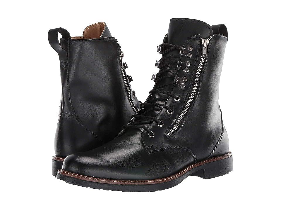 Massimo Matteo Side Zip Boot (Black) Men