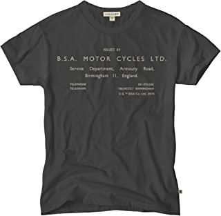 Bsa Motorcycle T Shirts For Men