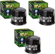 3x Filtro de aceite Suzuki VL 800 Volusia 01-05 Hiflo HF138