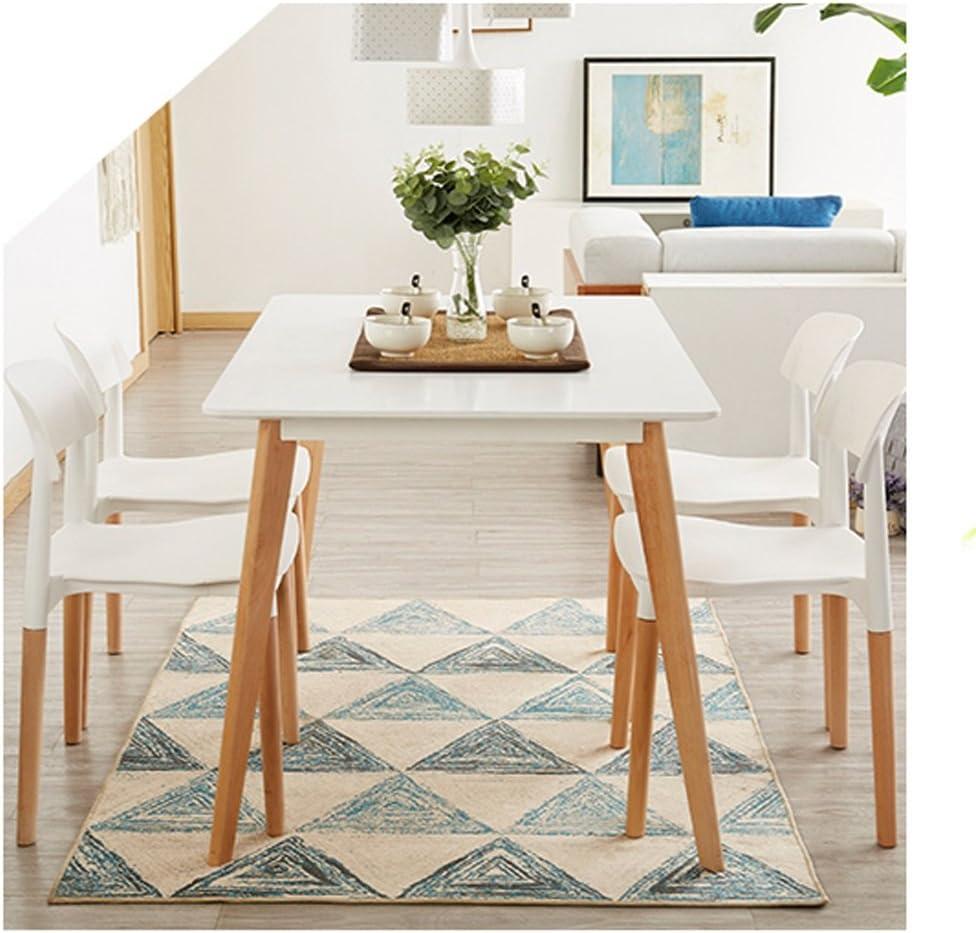 XXT-Chaise en Plastique Minimaliste Moderne de ménage Durable (Color : A) C