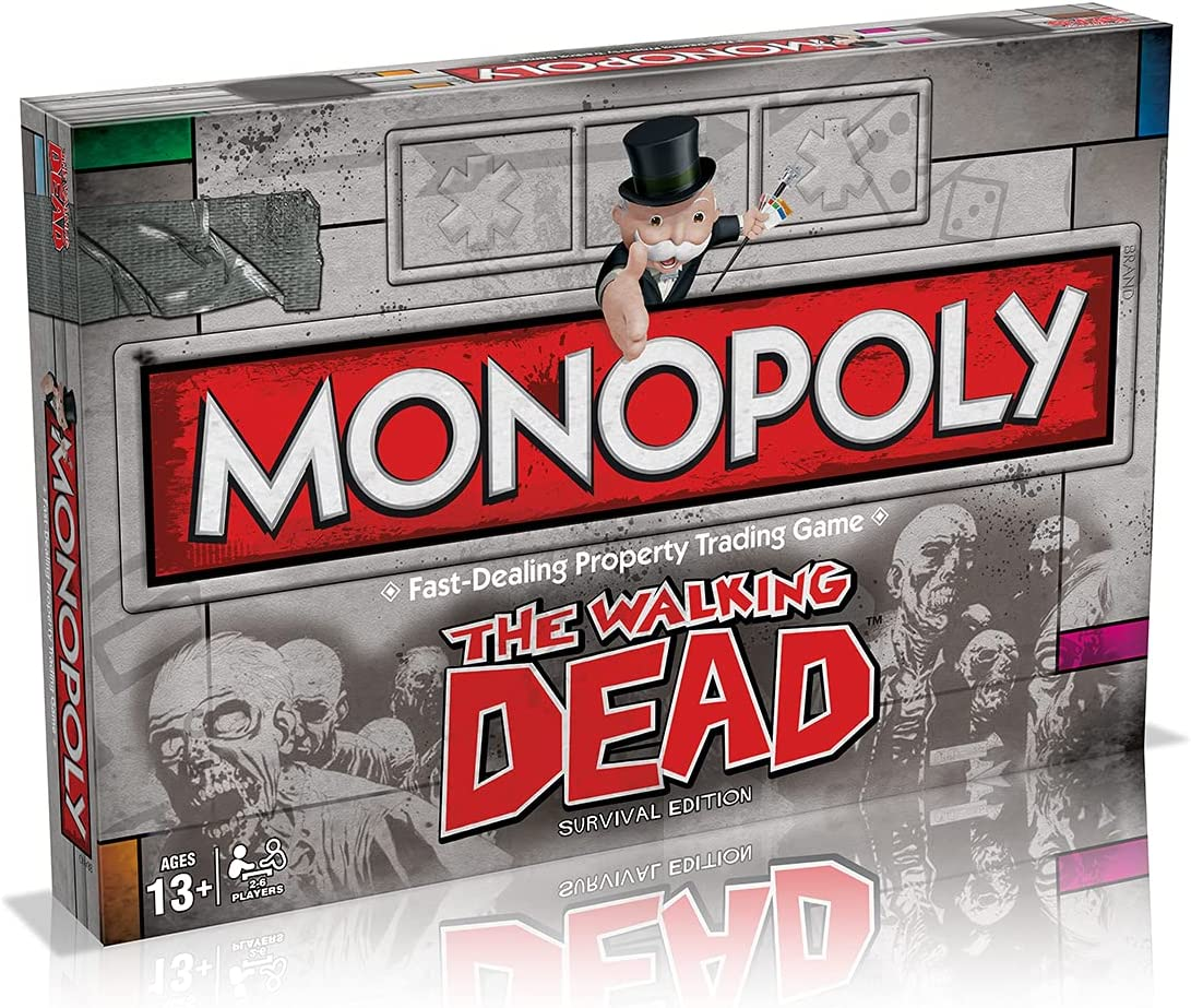 Hasbro Monopoly Free shipping anywhere in the nation Large discharge sale The Dead Walking