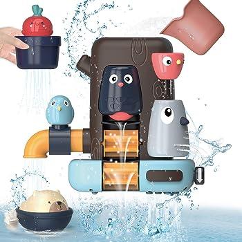 REMOKING 2020新型 お風呂 おもちゃ 水遊び おもちゃ 女の子 男の子 キッズ かわいい動物 水スプレー 遊びいっぱい 子供 赤ちゃんおもちゃ シャワーカップ 男女共用 贈り物 誕生日プレゼント 子供をお風呂が好きになる
