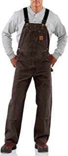 Best carhartt sandstone bib overalls insulated Reviews