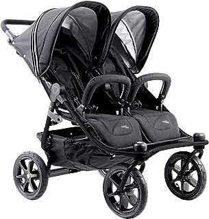Valco Baby Tri Mode Duo X All Terrain Double Stroller (Black Lightening)