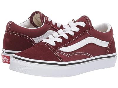 Vans Kids Old Skool (Little Kid/Big Kid) (Andorra/True White) Boys Shoes