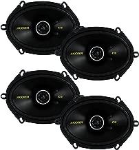 KICKER 4 New 40CS684 6x8 450W 2 Way Car Coaxial Speakers Stereo Audio CS684
