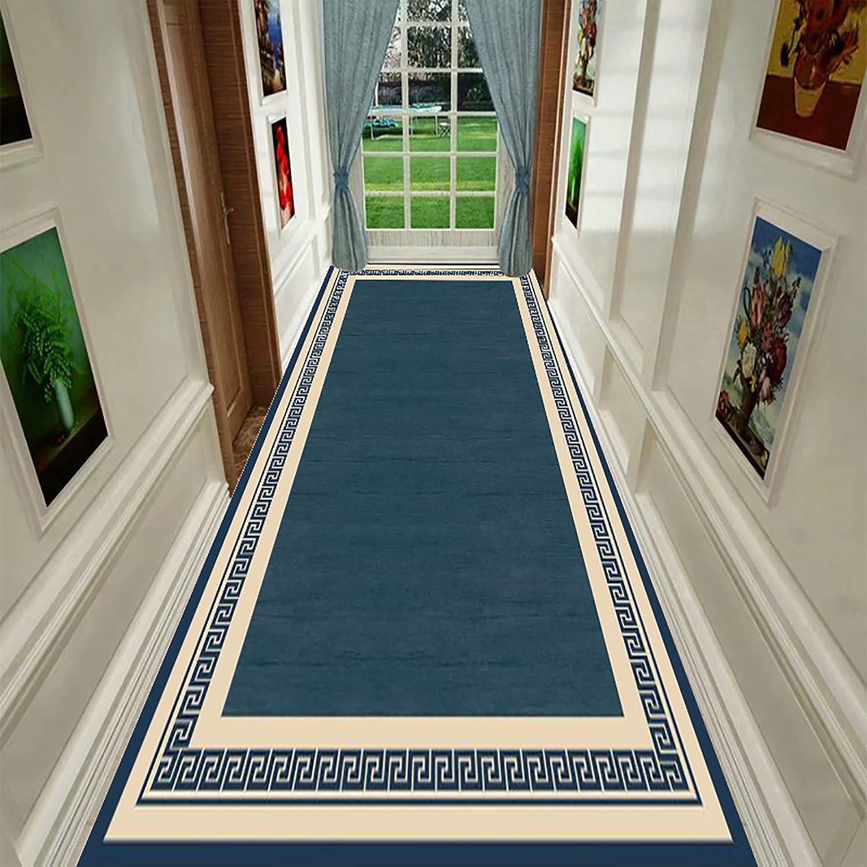 Dark Blue free Border Carpet Runners Fashion Rug Area Rugs Hallway