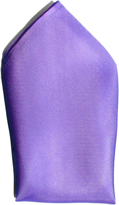 Lilac Twill Silk Handkerchief - Full-Sized 16