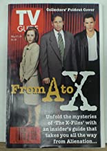 Tv Guide May 17-23 1997 Gillian Anderson & David Duchovny X-files Cover