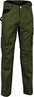 Cofra V014-0-03.Z56 Walklander Pantalon, Taille 56, Taupe/Noir