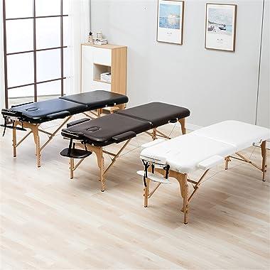 Lshbwsoif Table de massage pliante 185 cm de long 70 cm de large Table de massage professionnelle portable pour spa Table de