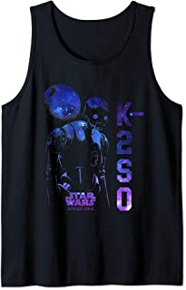 Star Wars Rogue One K-2SO Galaxy Print Débardeur