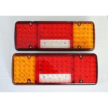 Fanali posteriori, luci a LED, 5 funzioni, design ultra sottile