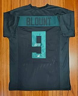 Legarrette Blount Signed Autographed Jersey New England Patriots Oregon Ducks JSA