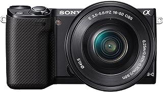ソニー SONY ミラーレス一眼 α NEX-5R パワーズームレンズキット E PZ 16-50mm F3.5-5.6 OSS付属 ブラック NEX-5RL/B