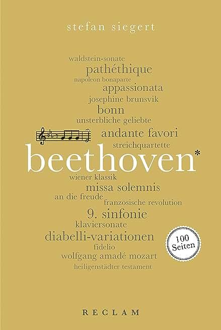 Ludwig van Beethoven. 100 Seiten: Reclam 100 Seiten (German Edition)