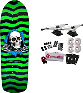 Powell Peralta Skateboard Complete Old School Ripper Green Re-Issue